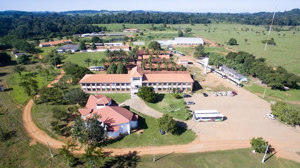 Ifro Campus Ariquemes — Foto: Ifro/Divulgação