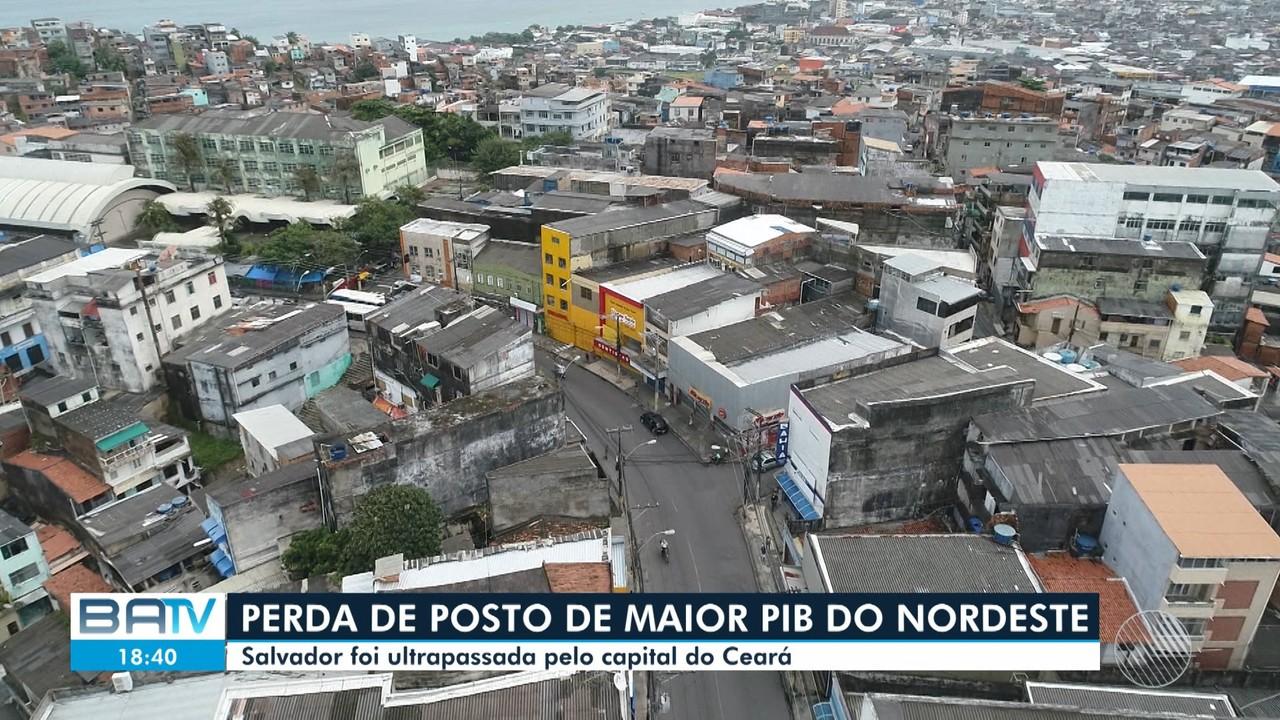 Salvador perde o posto de cidade com maior PIB da região Nordeste