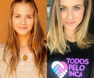 Luiza Valdetaro viveu Antônia. É apaixonada por Inácio (Maurício Destri), mas seu irmão, Timóteo (Bruno Gagliasso), faz ela se casar com Batoré (Osmar Prado). Longe da TV desde 2013, a atriz passou uma temporada em Londres, onde abriu uma produtora | TV Globo / Reprodução