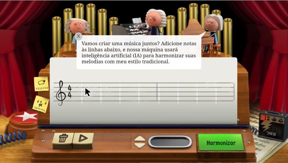 Piano do Doodle (Foto: Reprodução)