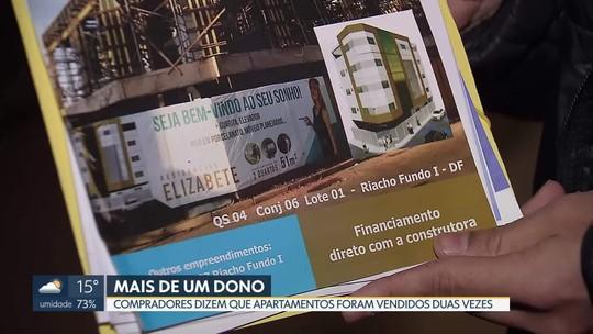 Compradores de apartamento no Riacho Fundo reclamam de venda duplicada de apartamentos
