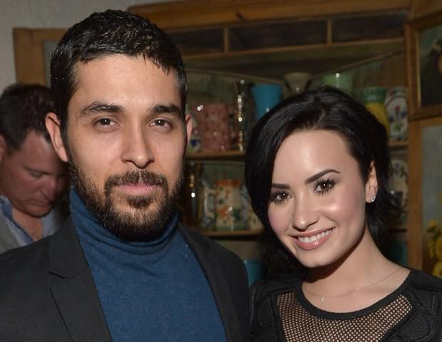 Demi Lovato e Wilmer Valderrama (Foto: Getty Images)