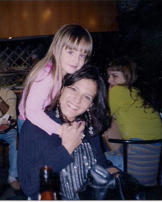 Bruna Griphao e a mãe, Bárbara Grigoriadis (Foto: Reprodução / Instagram)