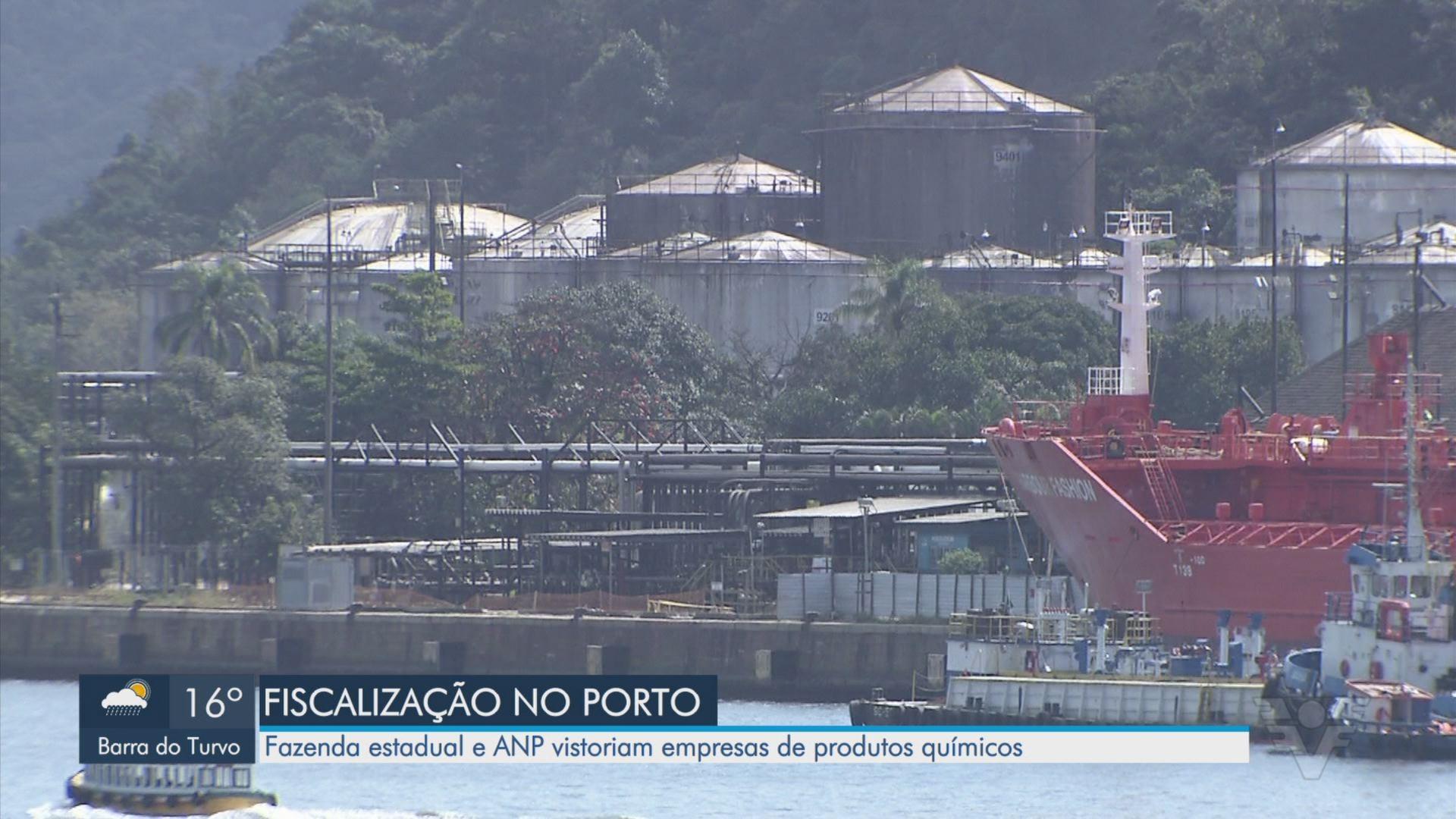 Fazenda estadual e ANP investigam irregularidades no setor de combustíveis no Porto de Santos, SP