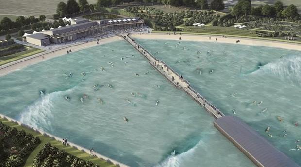 Depois de inaugurar a Wave em Bristol, surfista quer abrir mais praias artificiais (Foto: Divulgação)