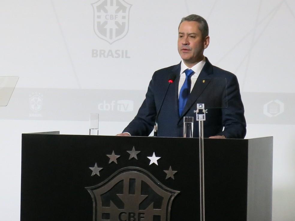 Rogério Cabloco é eleito o novo presidente da CBF (Foto: Edgard Maciel de Sá)