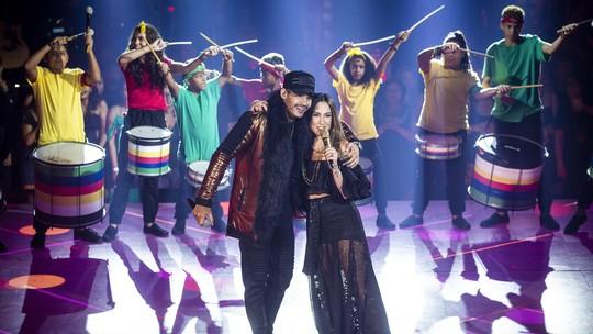 Claudia Leitte canta 'Saudade', seu novo sucesso com Hungria Hip Hop