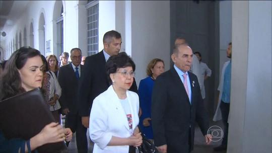 Diretora da OMS acompanha ações de combate ao Aedes aegypti em PE
