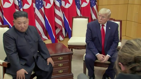 Imprensa asiática repercute gesto histórico de Trump e Kim Jong-Um