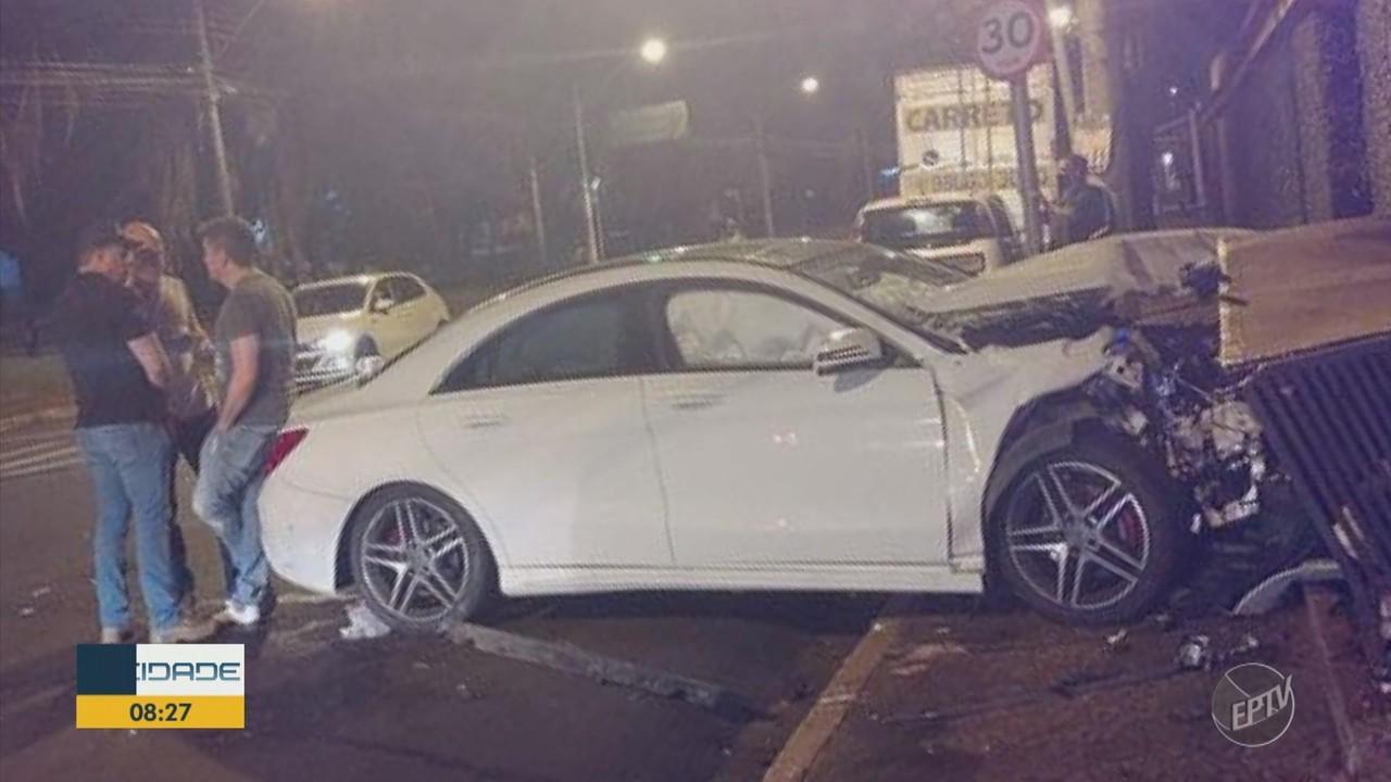 Policiais de Ribeirão Preto investigam acidente envolvendo um delegado da Polícia Federal