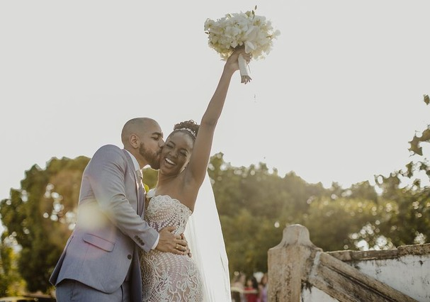 Casamento de Iza e Sergio Santos (Foto: Instagram/Reprodução)