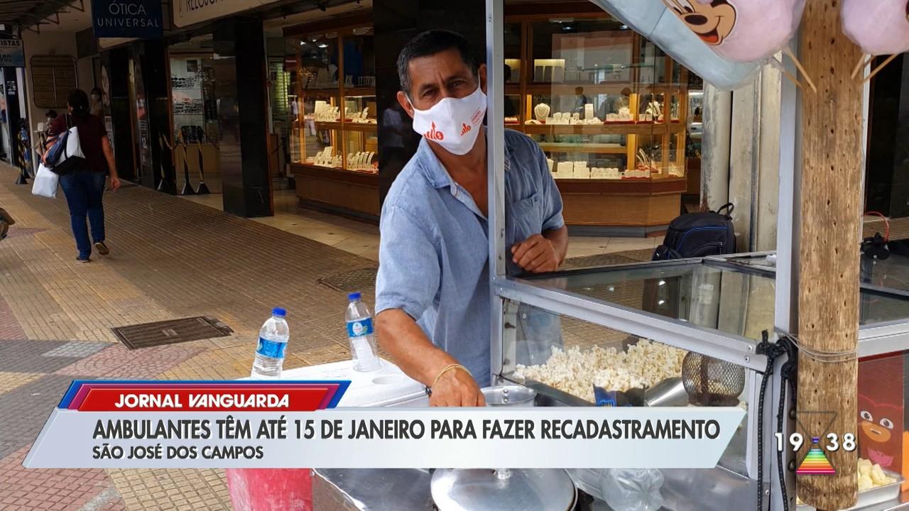 Ambulantes têm até dia 15 de janeiro para fazer recadastramento em São José dos Campos