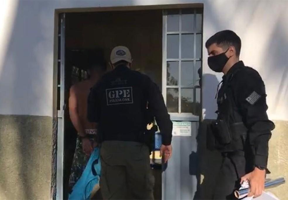 Jovem é preso em Canto do Buriti (PI) suspeito de integrar facção criminosa — Foto: Divulgação/Polícia Civil do Piauí