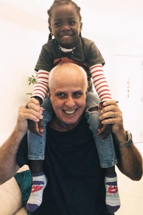 Titi e o avô (Foto: Instagram/Reprodução)