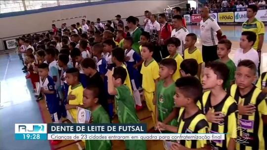 Confraternização Final do Festival Dente de Leite leva diversão para os pequenos no Dia das Crianças