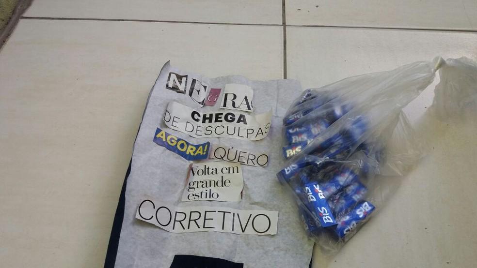 Doceira recebeu várias mensagens de ofensas raciais  (Foto: Arquivo pessoal )