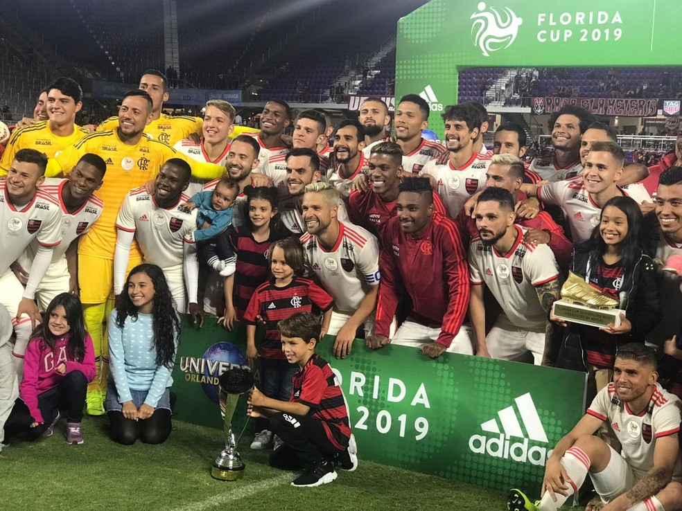 09a01a4cce ... Flamengo campeão da Flórida Cup — Foto  Cahê Mota