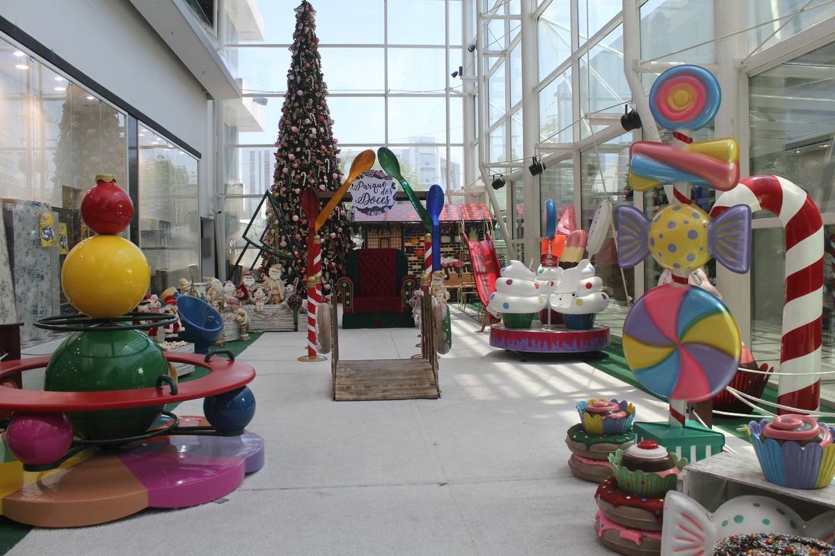 Centro de compras de Caruaru tem programação natalina para o final de semana