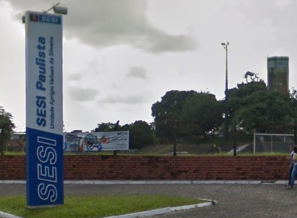 Unidade do Sesi em Paulista, no Grande Recife — Foto: Reprodução/Google Street View