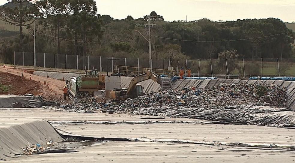 Lixo orgânico será utilizado para a geração de energia em usina termoelétrica — Foto: Arquivo/RPC Ponta Grossa