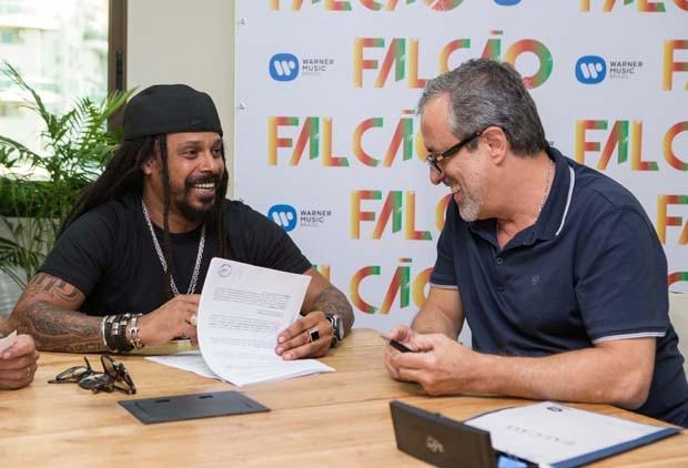 Marcelo Falcão e Sergio Affonso (Foto: Divulgação)