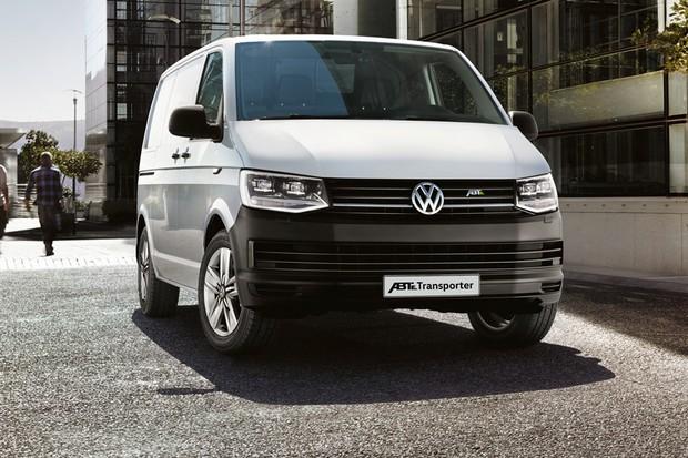 VW Transporter atual ganhou uma versão elétrica (Foto: Divulgação)