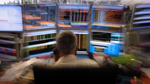 Na zona do euro, diversos bancos e governos também precisaram de resgate externo (Foto: AFP/BBC)