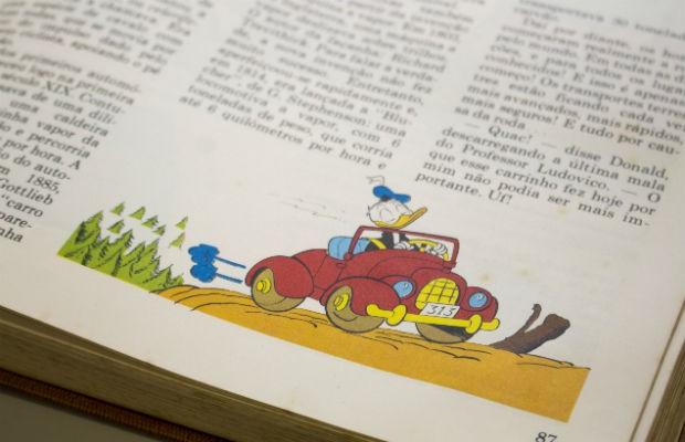 O carro do Pato Donalds completa 80 anos (Foto: Autoesporte)