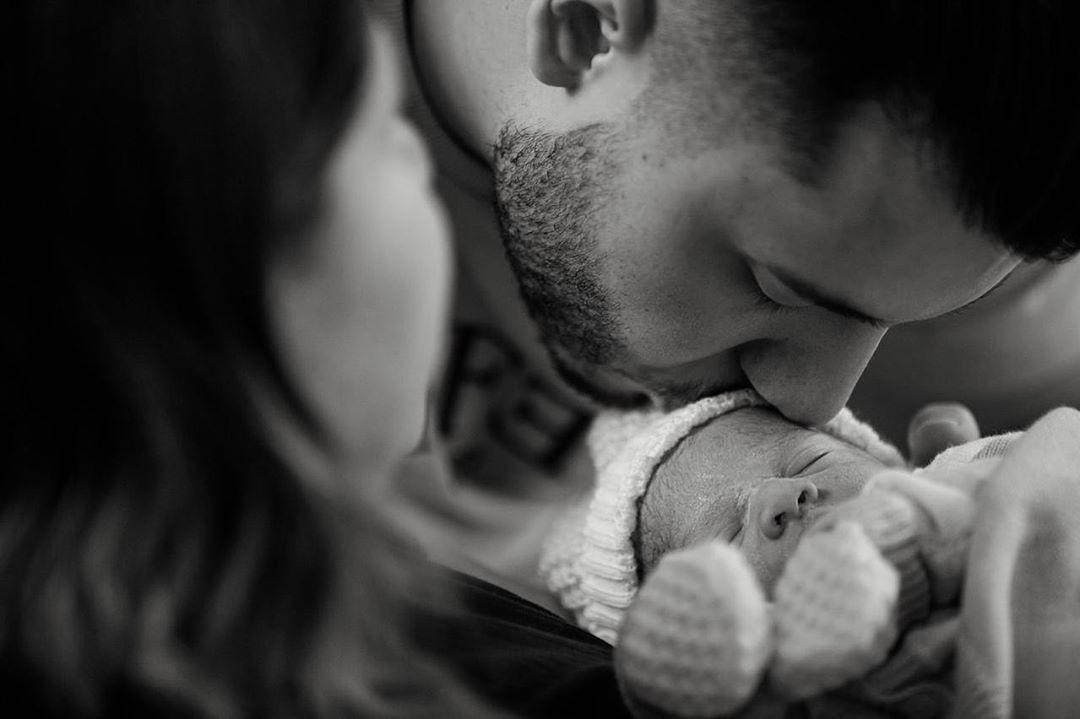 Marilia Mendonça e Murilo Huff com o filho, Léo (Foto: Reprodução/Instagram)