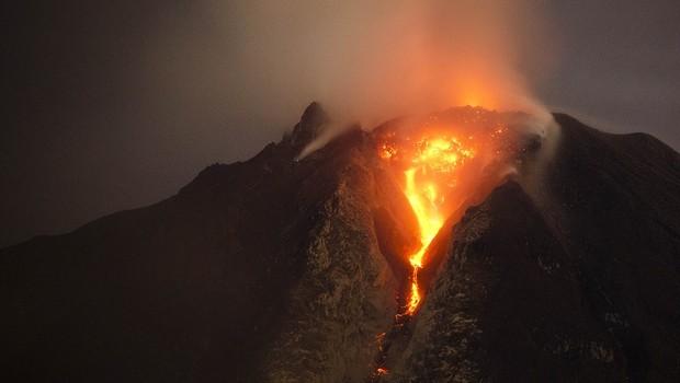 vulcão (Foto: Ulet Ifansasti/Getty Images)