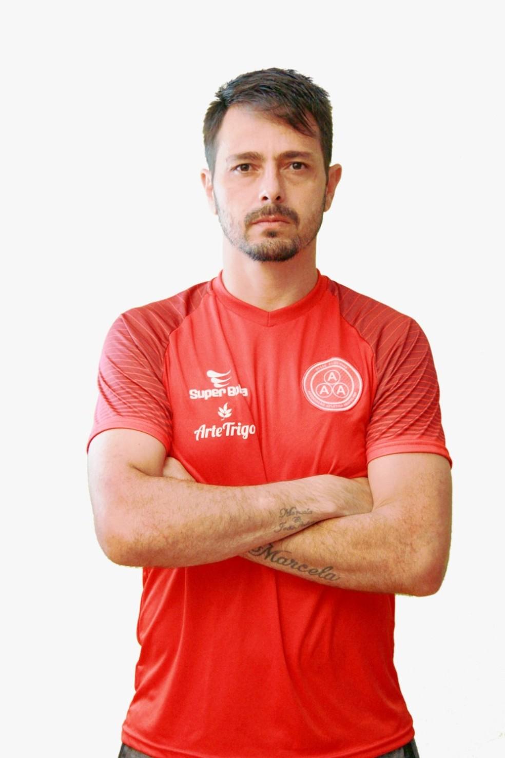 Rodrigo Calchi, que ainda tem contrato com o Anapolina — Foto: Arquivo pessoal