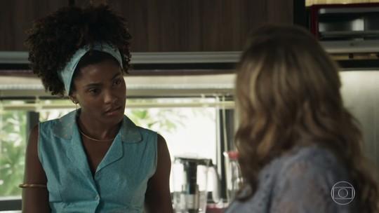 Erika Januza comenta cenas de preconceito em 'O Outro Lado do Paraíso': 'Se ainda falamos sobre isso, é porque existe'