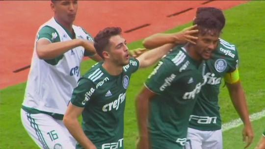Os gols de Liga Alajuelense 0 x 6 Palmeiras em amistoso internacional