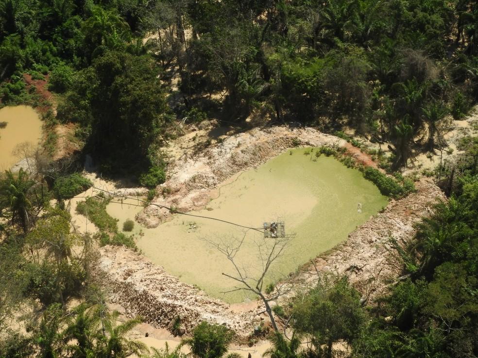 Grupo fazia exploração de minérios por meio de licença falsa — Foto: Polícia Civil-MT