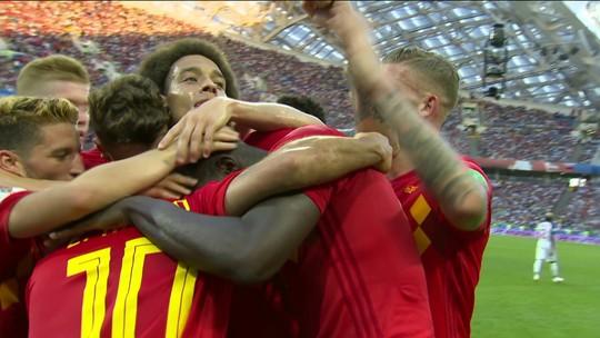 Dois de Lukaku e um de Mertens: veja os gols de Bélgica 3 x 0 Panamá