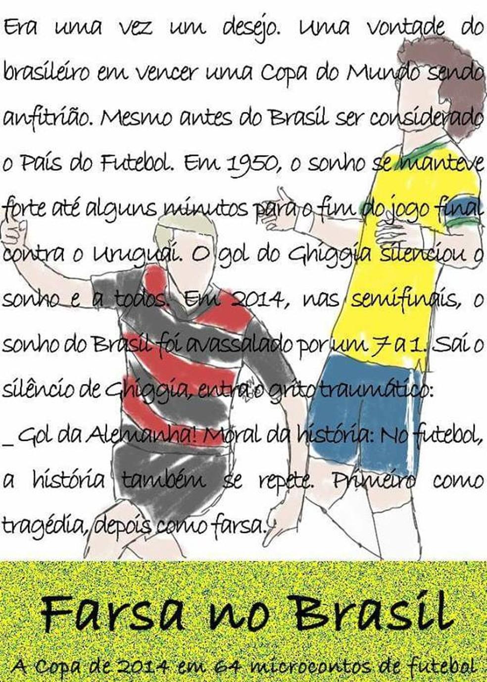Futebol e literatura: Professor reconta jogos das Copas do Mundo em 100  palavras   triângulo mineiro