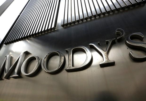 Fachada do edifício sede da agência de classificação Moody's , em Nova York (Foto: Getty Images)