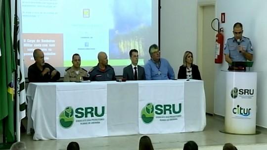 Plano de ação de prevenção e combate a incêndios em vegetação é lançado em Uberaba