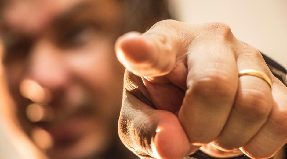 homem, dedo (Foto: Reprodução/Pexels)