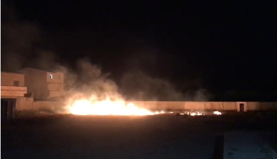 Fogos de artifício atingem hospital municipal perto da área da Covid-19 em Betânia
