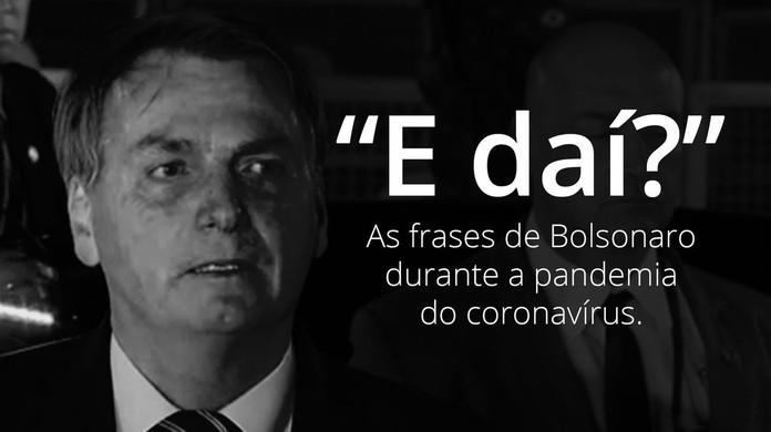 Veja frases de Bolsonaro durante a pandemia do novo coronavírus ...