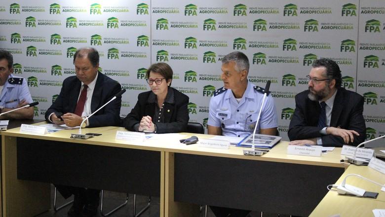 politica-reuniao-fpa-mre (Foto: Divulgação/FPA)