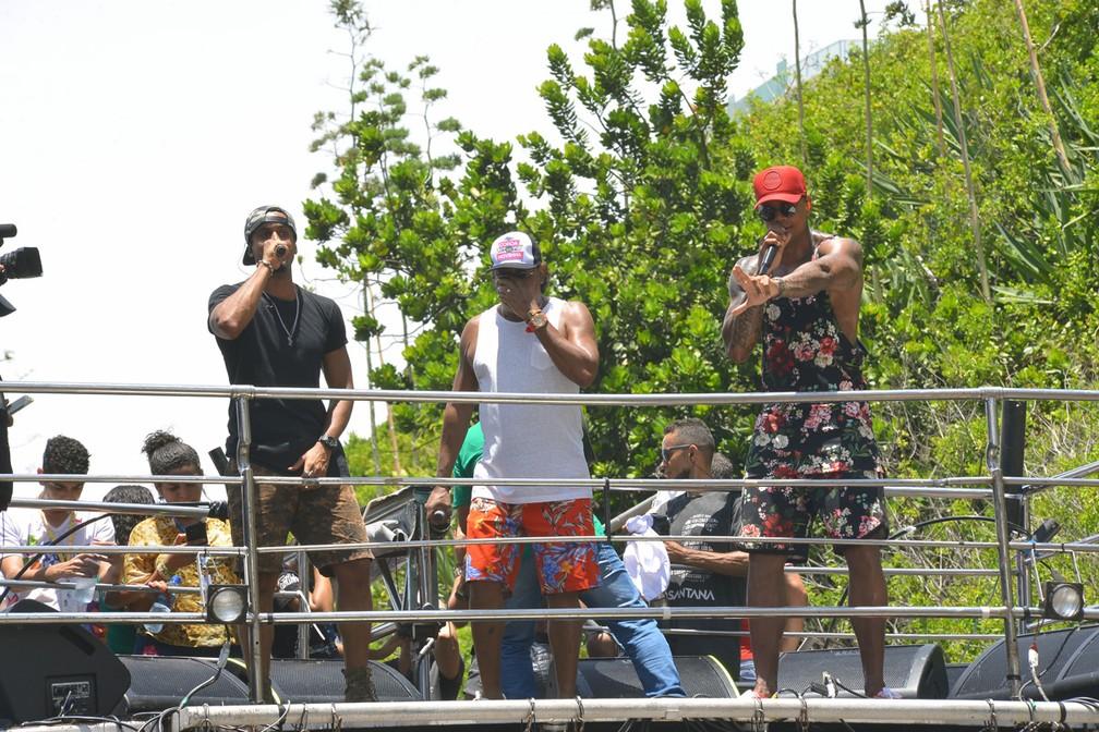 'Arrastão do Gigante' encerra o carnaval de Salvador, nesta quarta (Foto: Joilson César/Ag Haack)