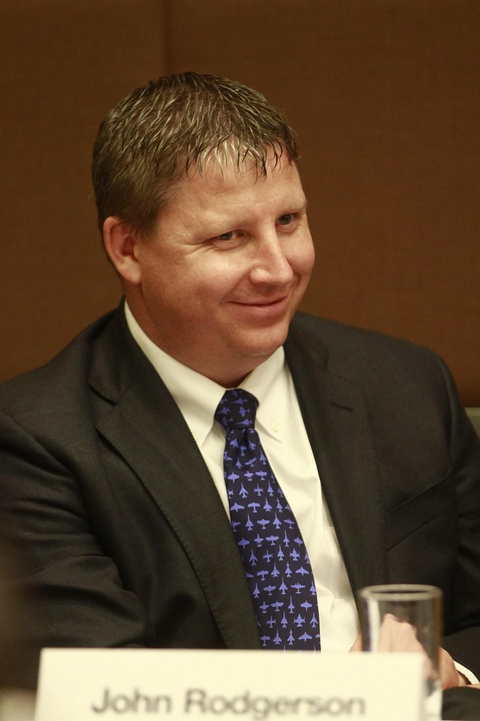 O executivo John Rodgerson,  novo presidente da Azul (Foto: Divulgação/Azul)