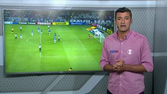 Cruzeiro x Ceará: VAR revisa lance, e Central do Apito concorda com marcação de pênalti