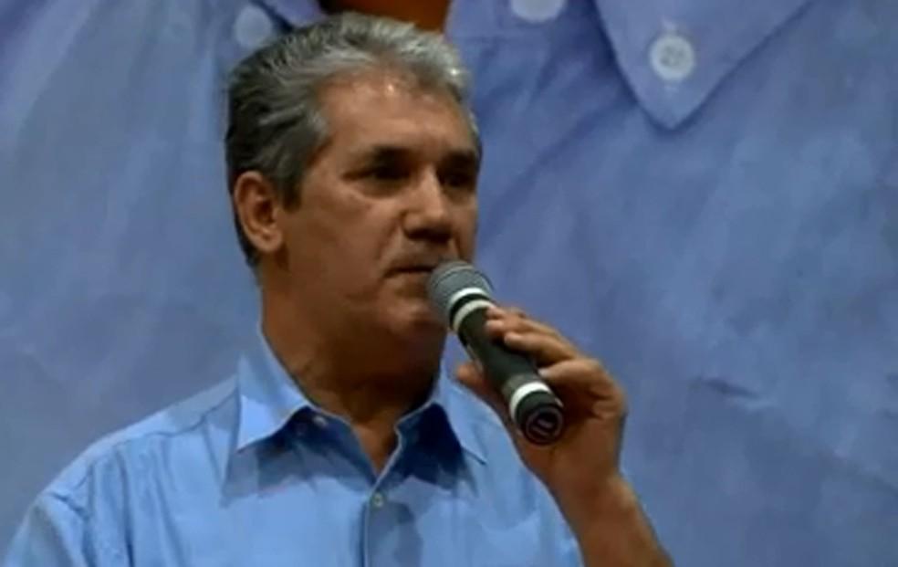 PSTU apresentou Toninho Ferreira como candidato ao Governo do Estado de São Paulo (Foto: Reprodução/TV Globo)