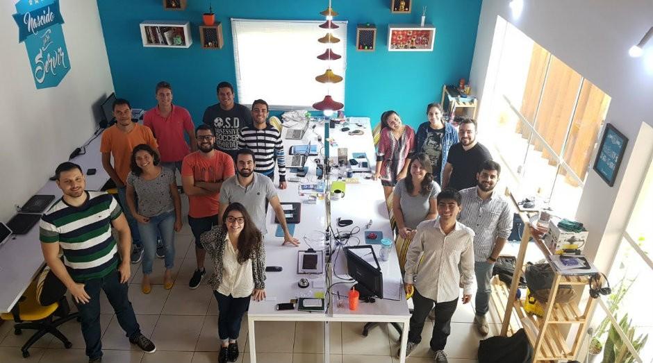 Escritório da Goomer, startup que automatiza o atendimento em bares e restaurantes (Foto: Divulgação)