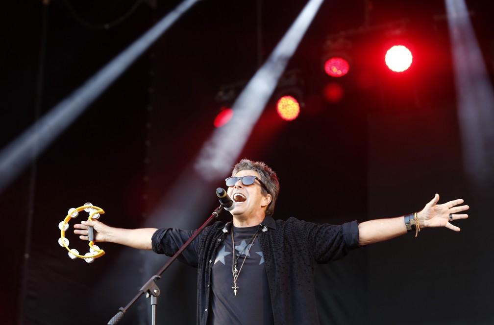 -  Evandro Mesquita no show da Blitz no Rock in Rio  Foto: Marcos Serra Lima/G1