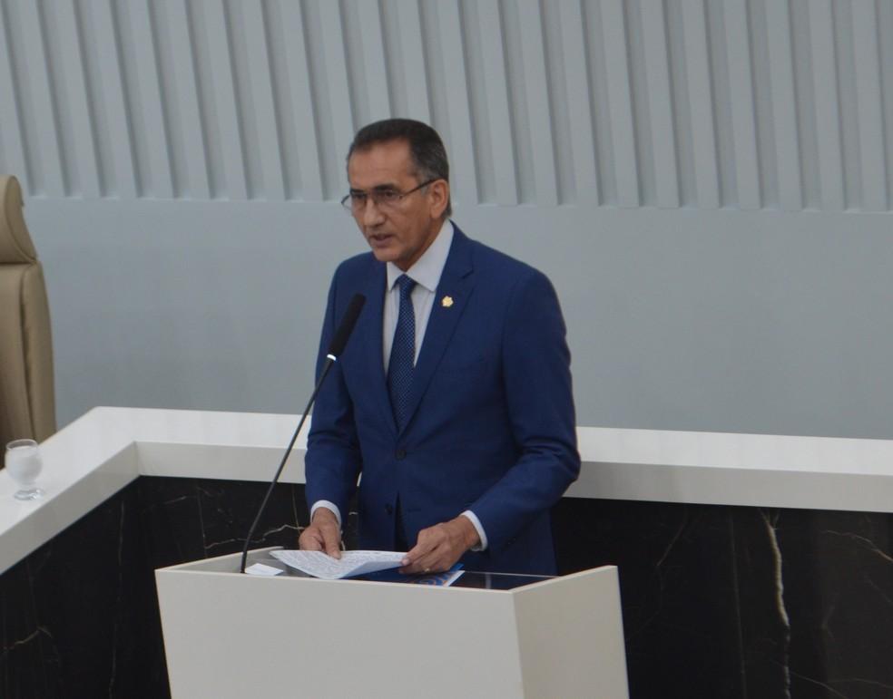 Waldez Góes, governador do Amapá e presidente do Consórcio de Estados da Amazônia Legal — Foto: John Pacheco/G1
