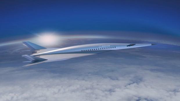 Conceito da aeronave hipersônica da Boeing (Foto: Divulgação)